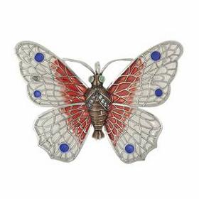 Anhänger Schmetterlinge, Charms in Silber & Gold