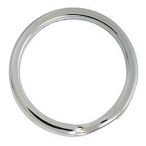 Sprengring, Schlüsselring, Schlüsselmechanik in echt Sterling-Silber 925/000 für Anhänger