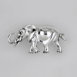 zierfigur elefant in echt sterling silber 925 wei standmodell juwelier weber. Black Bedroom Furniture Sets. Home Design Ideas