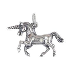Anhänger Einhörner, Charms in Silber & Gold