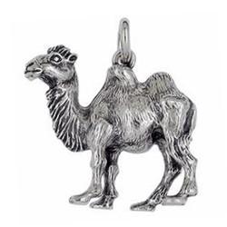 Anhänger Kamel in echt Sterling-Silber 925 oder Gold, Ketten- oder Schlüssel-Anhänger