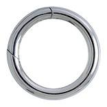 Federring, Schlüsselring mit Schnappverschluss, Schlüsselmechanik in Silber 925/000 für Anhänger