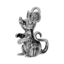 Anhänger Maus in echt Sterling-Silber 925 oder Gold, Ketten- oder Schlüssel-Anhänger