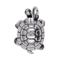 Anhänger Schildkröten, Charms in Silber & Gold