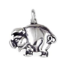 Anhänger Schwein halbplastisch in echt Sterling-Silber 925 oder Gold, Ketten- oder Schlüssel-Anhänger