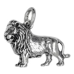 Anhänger Löwen, Charms in Silber & Gold