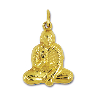 Anhänger Buddhas, Gurus, Charms in Silber & Gold