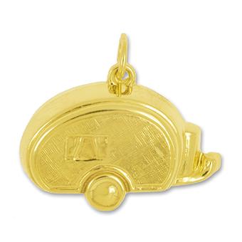 Anhänger Wohnwägen, Caravans, Charms in Silber und Gold