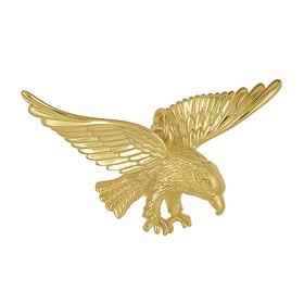 Anhänger Adler in echt Sterling-Silber oder Gelbgold, Ketten- oder Schlüssel-Anhänger