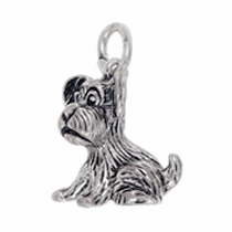 Anhänger Hunde, Charms in Silber & Gold