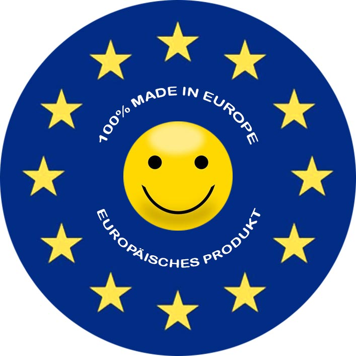 100 % Made in Europe - Europäisches Produkt