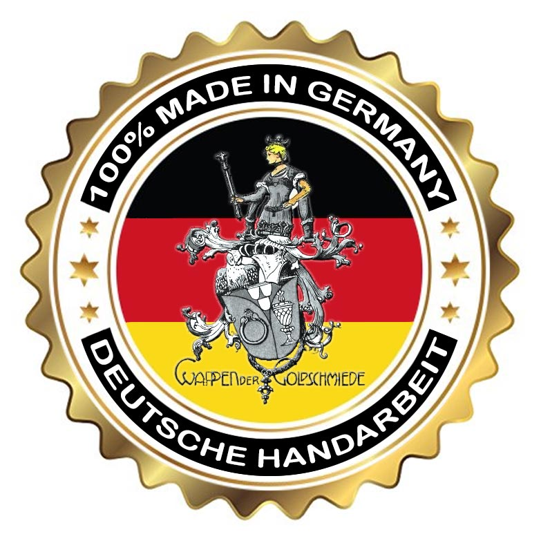 100% Made in Germany - Deutsche Handarbeit