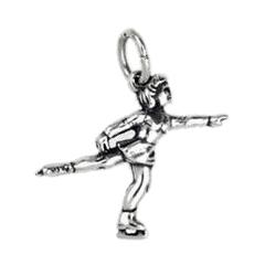 Anhänger Eiskunstlauf, Eistanz, Eisschnelllauf, Charms in Silber & Gold