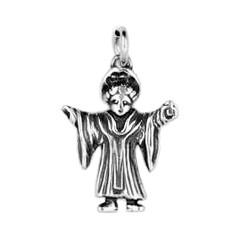 Anhänger Münchner Kindl in Sterling-Silber 925 oder Gold, Charm, Ketten- oder Bettelarmband-Anhänger
