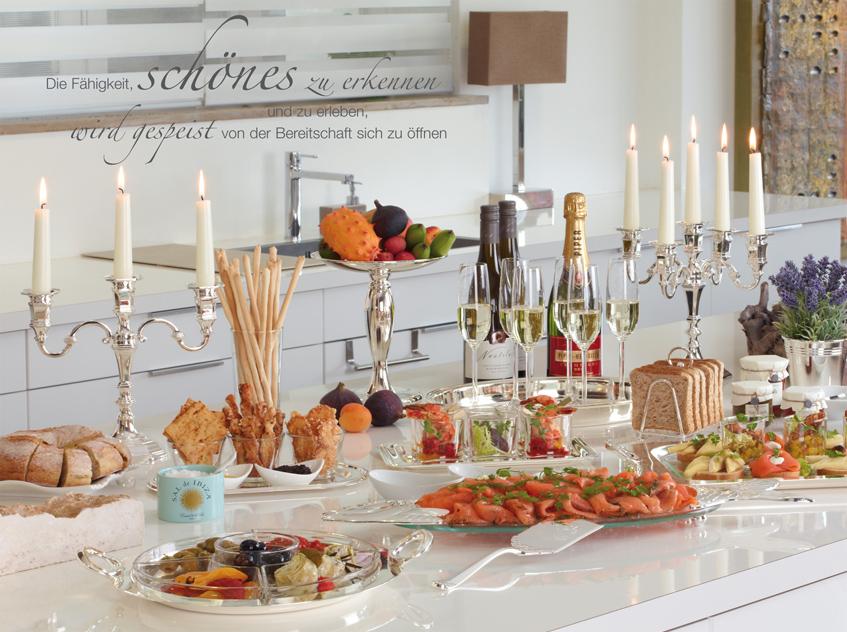 Kerzenständer, Kerzenhalter, Kerzenlecuhter hochwertig versilbert