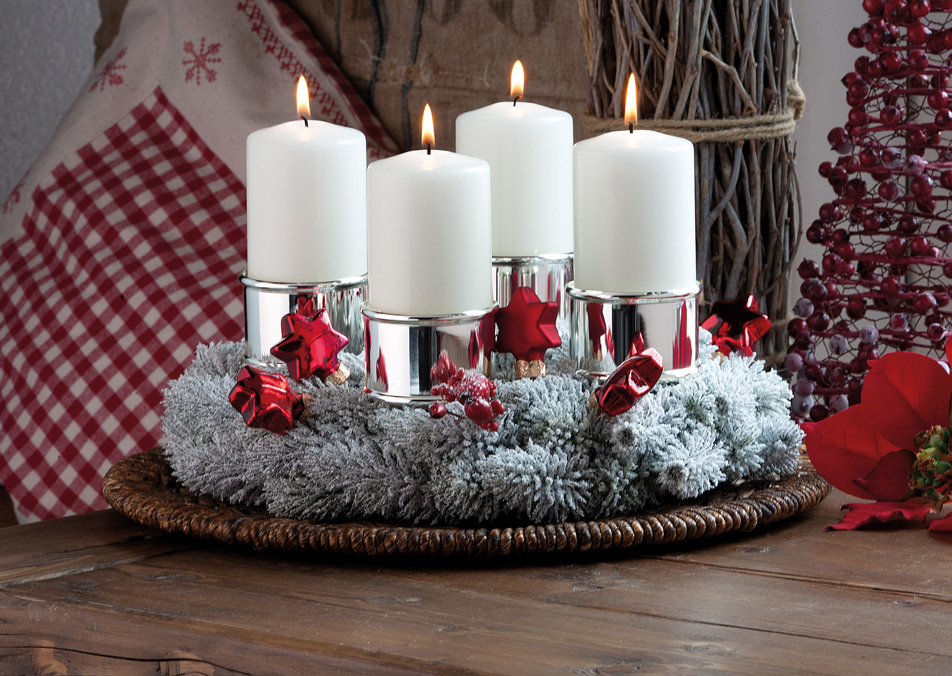 Schönes zur Weihnachts- & Adventszeit hochwertig versilbert