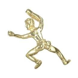 Anhänger Kletterer in echt Sterling-Silber 925 oder Gold, Charm, Ketten- oder Bettelarmband-Anhänger
