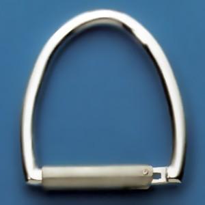 Schlüsselring-Bügel, Schlüsselmechanik mit Druckverschluss in echt Silber 925 für Anhänger