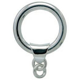 Sprengring, Schlüsselring mit Schlaufe und 2 Ösenglieder in Sterling-Silber 925/000 für Anhänger