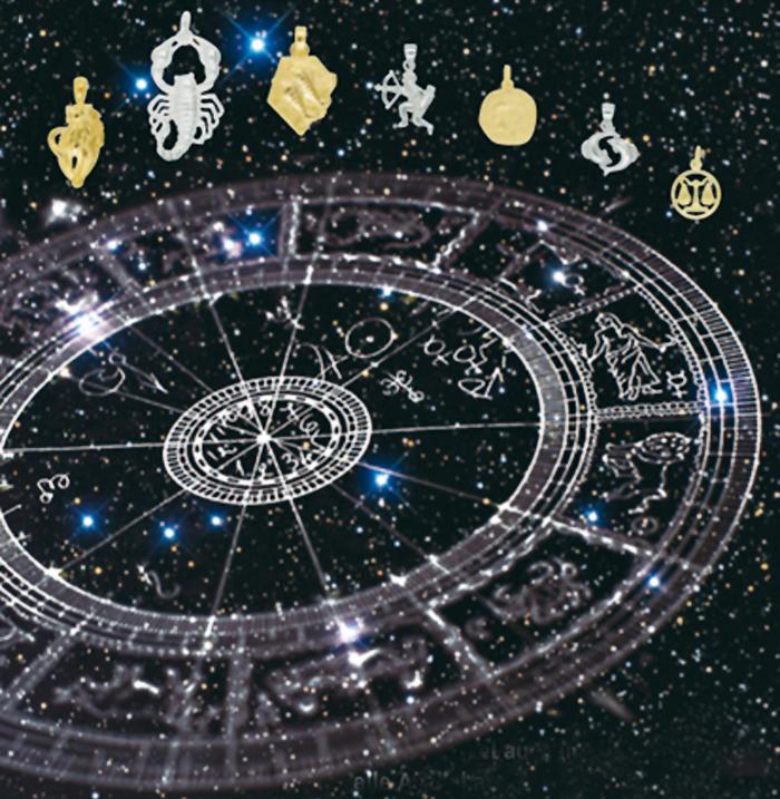 Anhänger Sternzeichen, Charms in Silber & Gold