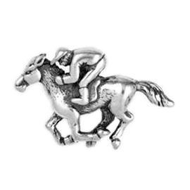 Anhänger Pferdesport, Reitsport, Charms in Silber und Gold