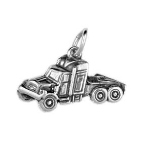 Anhänger Nutzfahrzeuge, Charms in Silber und Gold
